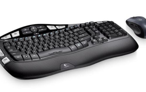 Wireless Wave Keyboard and Mouse - 1